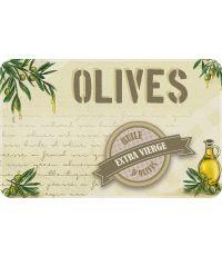 Tapis de cuisine huile d'olives - 80 x 50