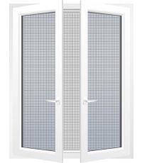Toile moustiquaire 250 x 250 cm - blanc