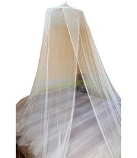 Ciel de lit moustiquaire - 2 personnes diam 60 cm hauteur 2,50 m  - blanc
