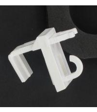 Fixation sans percage stores enrouleurs pvc/bambou x2 - blanc