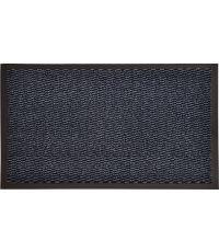 Tapis Lisa polypro/PVC bleu - 80 x 60