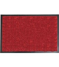 Tapis Baptiste 40 x 60 cm cm polyamide/PVC - rouge