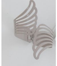 Embrasse metal manchette angel - taupe