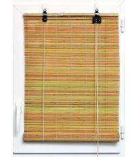 Store enrouleur baguettes bambou 90 x 180 cm - multicouleur