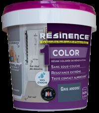 Résine Décorative Multisupport Gris Ardoise 250 ml - RESINENCE