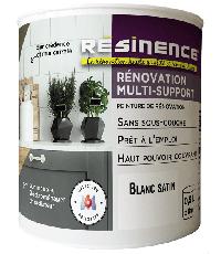Peinture de Rénovation Multi-support Blanc Satin 0,5L - RESINENCE