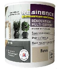 Peinture de Rénovation Multi-support Raphia Satin 0,5L - RESINENCE