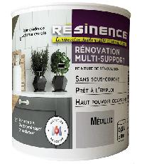 Peinture de Rénovation Multi-support Metallic Satin 0,5L  - RESINENCE