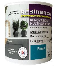 Peinture de Rénovation Multi-support Pétrole Satin 0,5L - RESINENCE