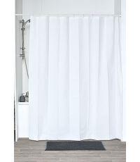 Rideau de douche peva 180x200cm - blanc - TENDANCE