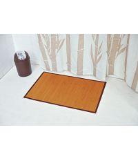 Tapis bambou 50 x 80 cm - naturel foncé