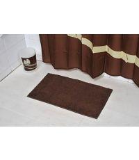 Tapis polyester 45 x 75 cm - marron