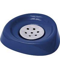 Porte savon conique - bleu marine