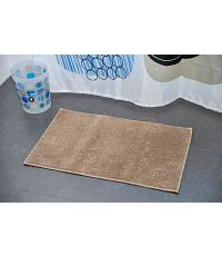 Tapis polyester 45 x 75 cm - taupe