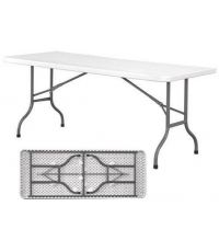Table pliante L.180 x l.74 x H.74 cm.