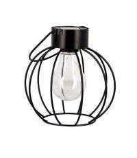 Lanterne Solaire Rétro Noir Mat - XANLITE