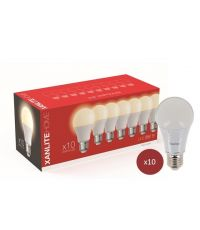 Lot de 10 ampoules LED A60 E27 SMD