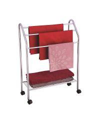 Porte serviettes en acier chromé - MSV