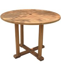 Table ronde teck
