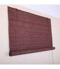 Store mauricien en bambou 1x2m marron