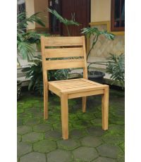 Chaise teck Marvel 58 x 54,5 x 90 cm