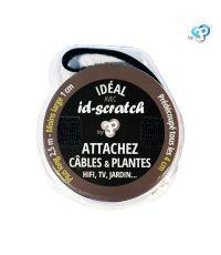 Id-scratch - noir - 2,5m/1cm - ID SCRATCH