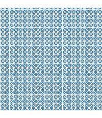 Adhésif basicline daniela bleu 45cm 1,5m