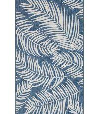 Tapis Moa bleu 120 x 160 cm