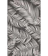 Tapis Moa noir 120 x 160 cm