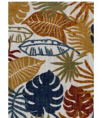 Tapis Cabana à feuilles 120 x 160 cm