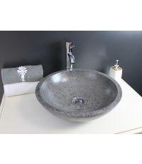 Vasque en terrazo petra gris
