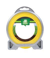 Fil nylon rond ø 1,2 mm Premium 15 m - jaune - JR