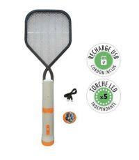 Raquette anti-moustiques rechargeable - FANELITE