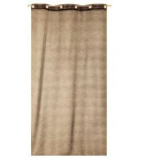 Voilage Zinia taupe 140 x 240 cm