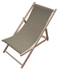 Chaise longue Chilienne taupe