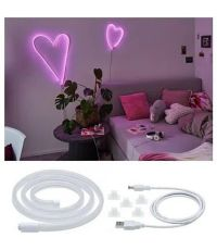 Ruban USB Neon Colorflex 1m 4,5W 5V plastique rose blanc