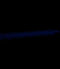 Réglette LED Conero DIM 60 Titane MULLER LICHT L60 10W