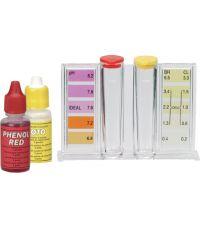 Trousse d'analyse liquide chlore / brome + pH pour piscine - GRE