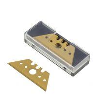 5 lames trapèze pro en boîte 0.65 x 52 mm - WOLFCRAFT
