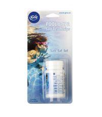 Bandelette d'analyse taux de sel pour piscine GRE