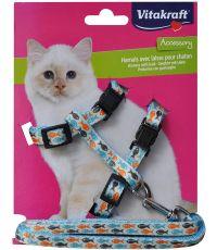 Harnais pour chaton avec laisse - VITAKRAFT
