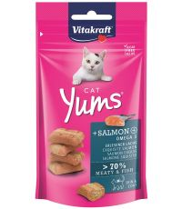 Friandise saumon pour chat Yums 40g - VITAKRAFT