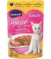 Nourriture poulet pour chaton 85gr Poésie Délisauce - VITAKRAFT