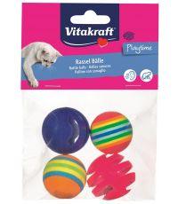 2 balles et 2 balles-grelot pour chat - VITAKRAFT