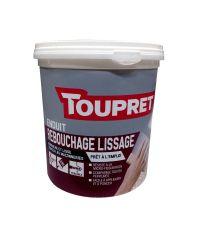 Enduit rebouchage lissage - Pâte 1,5 kg - Toupret