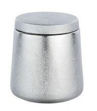 Boîte à coton Glimma céramique argent - WENKO