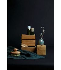 Boîte de rangement avec couvercle Terra S bambou - WENKO