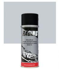 Peinture aérosol haute température 650°C argent 400 ml - RACING