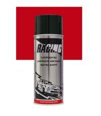 Peinture aérosol rouge métalissé 400 ml - RACING