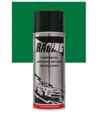 Peinture aérosol vert métalissé 400 ml - RACING